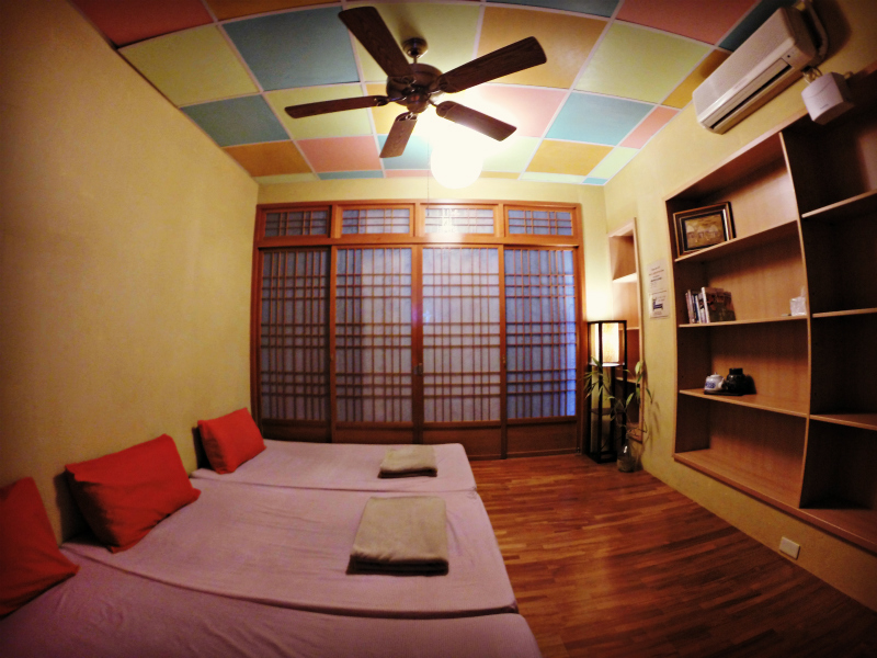 Dulan Hostel Surf House Sea View Room - WaGaLiGong Dulan Surf & SUP House & Bar 哇軋力共都蘭衝浪/立槳/酒吧 Taiwan Taitung Dulan